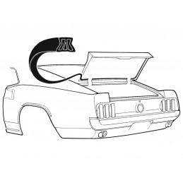 Těěsnění kufru, Fastback 69-70