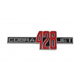 69-70 428 COBRA JET FEND EMBLM