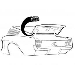 Těsnění kufru, Fastback 67-68